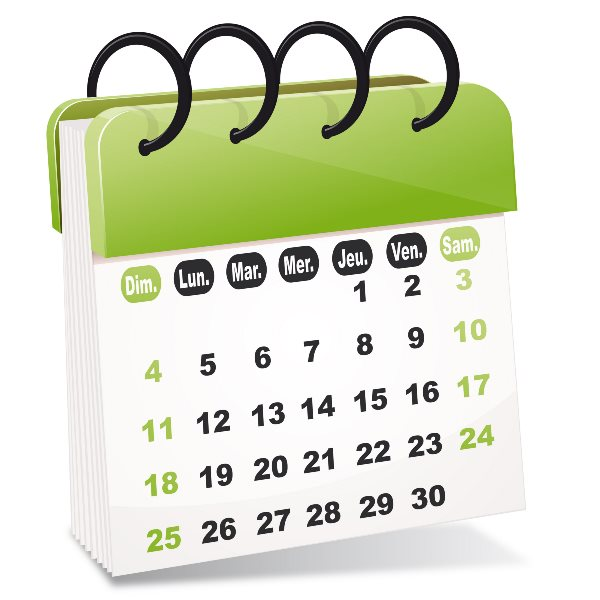 Calendrier Paie Prof.Fgf Fo Les Calendriers Fetes Vacances Paye